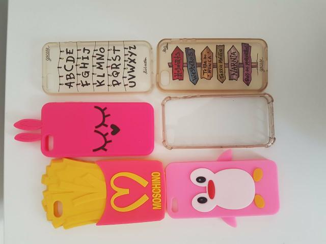 6 Cases/capinhas Iphone 5/5s