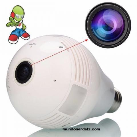 Lampada Câmera Espiã Ip Led Wifi Hd 360º em são luis ma