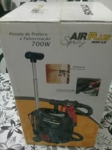Pistola de Pulverização Air Plus Spray 700W Schulz Preta