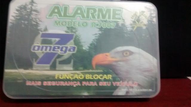Alarme De Carro Omega 7007 (aguia) Com Blocar