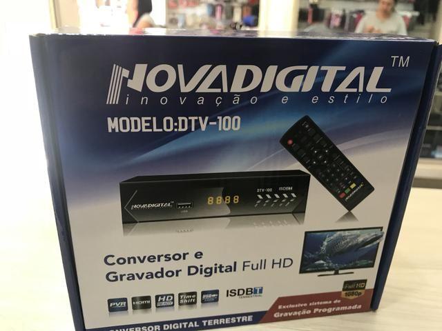 Vendo conversor digital tv