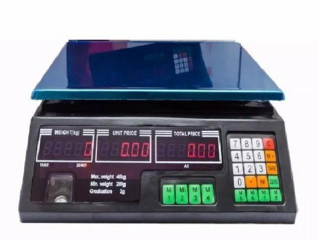 Balança Eletrônica Digital Bivolt 40 kg C/ Garantia na Loja 9 8895 6824