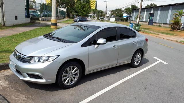 Honda Civic LXS 2013 Prata Autom