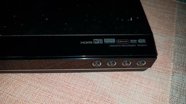 Gravador de dvd lg rh397h, com hd interno de 160 Gigas