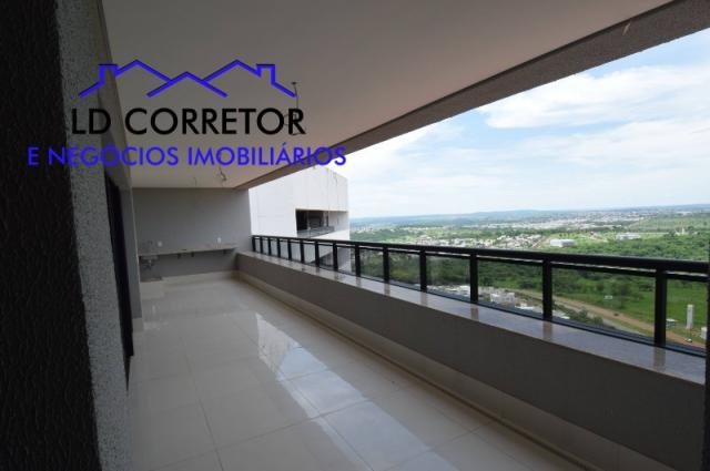 Apartamento à venda com 4 dormitórios em Park lozandes, Goiânia cod:COBEURO268