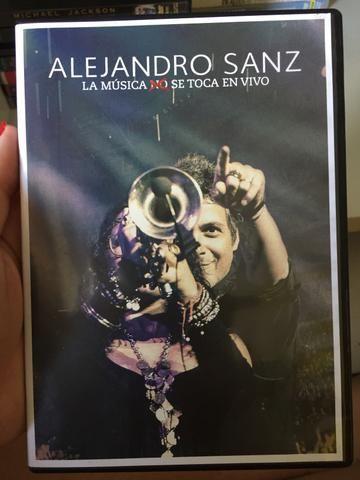 DVD Alejandro Sanz