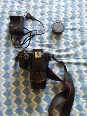 Câmera Canon EOS T3 Rebel ( Completa )