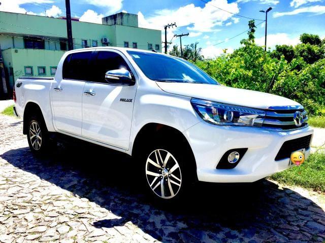 Toyota Hilux SRX 2017 único dono diesel IMPECÁVEL!!! - Foto 9