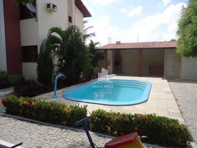 Apartamento com 03 quartos, 01 suíte, 02 vagas, piscina e deck com churrasqueira, sapirang - Foto 7