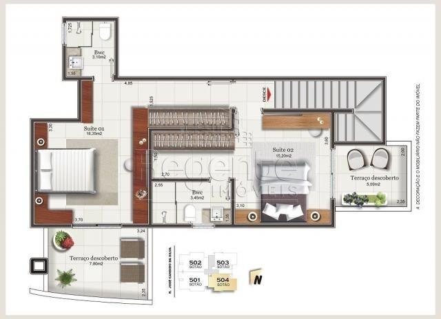 Apartamento à venda com 3 dormitórios em Balneário, Florianópolis cod:79158 - Foto 7