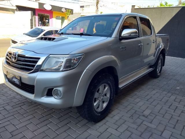 Hilux SRV 3.0 Aut Cab Dupla 4x4 Diesel 2013 - Foto 3