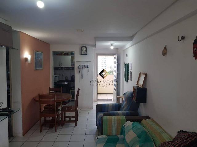 Apartamento com 3 dormitórios à venda, 57 m² por R$ 330.000 - Fátima - Fortaleza/CE - Foto 3