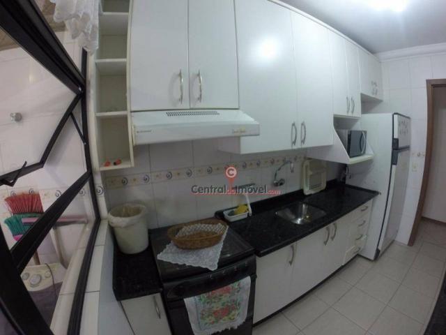 Apartamento com 3 dormitórios para alugar, 131 m² por R$ 500,00/dia - Centro - Balneário C - Foto 3