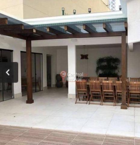 Apartamento com 3 dormitórios para alugar, 131 m² por R$ 500,00/dia - Centro - Balneário C - Foto 17