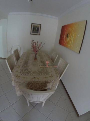 Apartamento com 3 dormitórios para alugar, 131 m² por R$ 500,00/dia - Centro - Balneário C - Foto 2