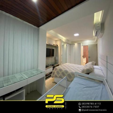 Apartamento com 3 dormitórios à venda, 118 m² por R$ 460.000 - Manaíra - João Pessoa/PB - Foto 6