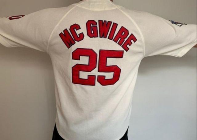 Camisa Beisebol Sta Luiz Cardinals + Camisa goleiro Reush - Foto 3