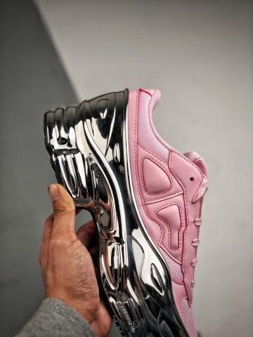 Tênis Adidas Raf Simons Ozweego Silver Rose - Foto 4