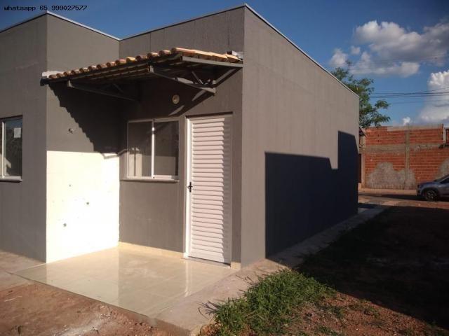 Casa para Venda em Várzea Grande, São Benedito, 2 dormitórios, 1 banheiro, 2 vagas - Foto 15