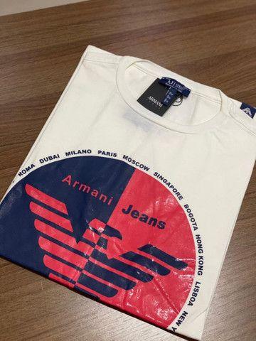 T-shirts Armani e Hilfiger  - Foto 3