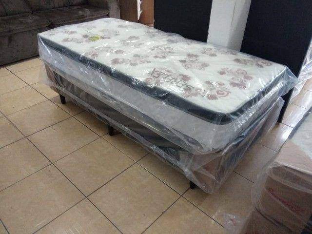 Conj box solteiro molas ensacadas  - Foto 3