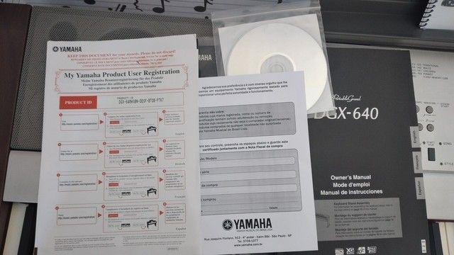 Piano digital Yamaha DGX 640 - Foto 5