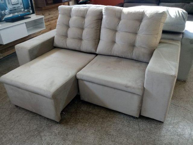 Sofa look retratil e reclinavel.! - Foto 3