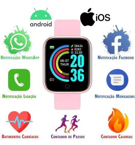 Smartwatch Y68 D20 - Foto 3