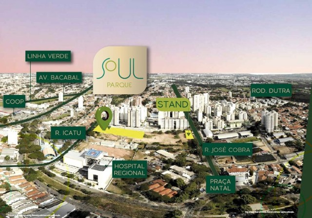 Morar no Soul Parque  - São Jose dos Campos - Foto 2