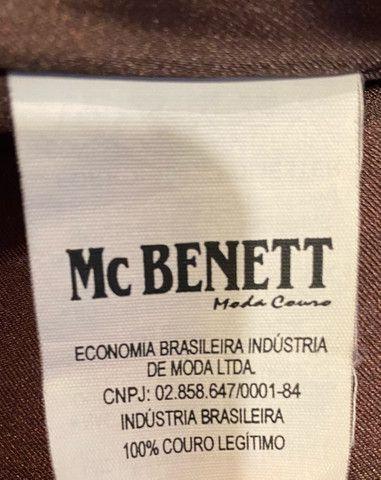 Jaqueta de Couro MC BENETT - Foto 5