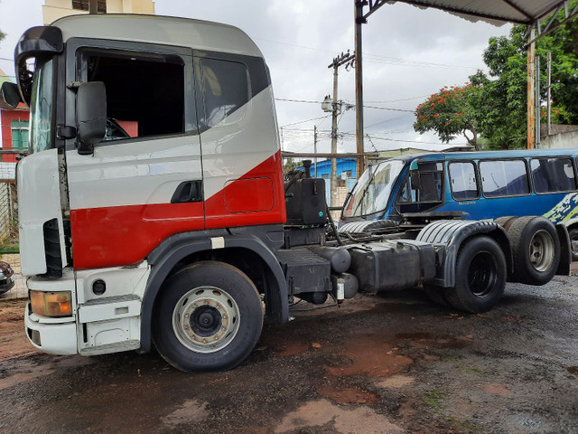 Scania 124 G 420 truck  - Foto 12