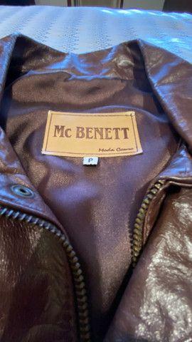 Jaqueta de Couro MC BENETT - Foto 4