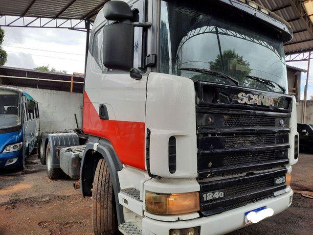 Scania 124 G 420 truck  - Foto 3