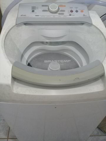 Vendo máquina Brastemp 9kl, em perfeito estado, funcionando perfeitamente, sexto inox