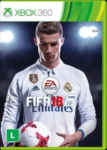 Xbox 360 Muito novo - @ controles e FIFA 18 E PES 17