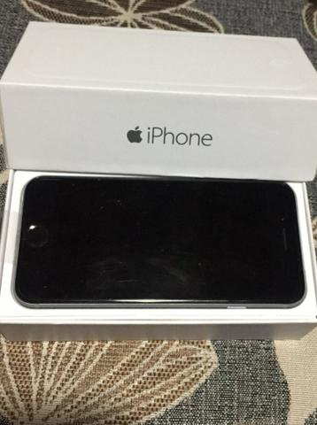 IPhone 6 space gray 64 gb 4g duas semanas de uso zerado