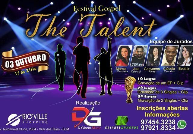 Concurso de Talentos Gospel