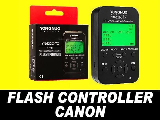Radio Flash Transmissor Yongnuo Yn - 622C Tx Controlador Wirelles