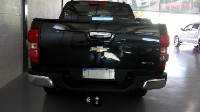 S10 LTZ 2013 2.8 4x4 turbo Diesel AUT único dono Ac troca - Foto 4