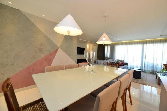 Apartamento com 4 dormitórios à venda, 152 m² por r$ 1.400.000,00 - varjota - fortaleza/ce - Foto 19