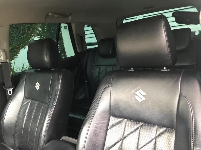 Suzuki Grand Vitara 4x4 Top De Linha Com Baixa Km Pneus Novos Todas Revisão Na Agencia - Foto 11