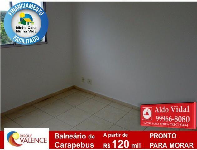 ARV143- Apto 2Q Entrada 0 no M.Casa Minha Vida, Próximo as Praias da Serra - ES - Foto 2