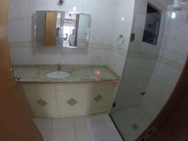 Apartamento com 3 dormitórios para alugar, 131 m² por R$ 500,00/dia - Centro - Balneário C - Foto 7
