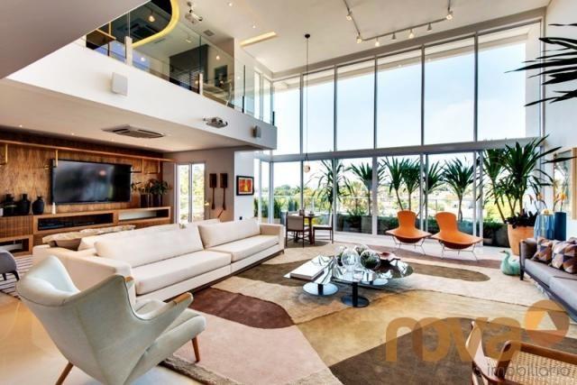 Apartamento à venda com 4 dormitórios em Setor marista, Goiânia cod:NOV235819