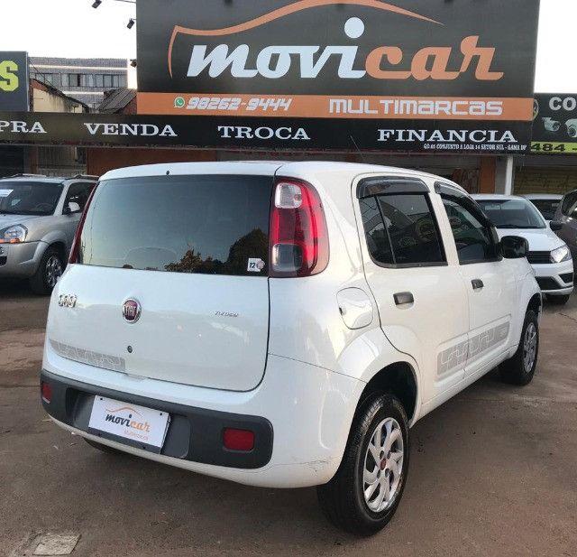 Fiat Uno Vivace 1.0 Fire 2015 Novinho 100% financiado - Foto 5