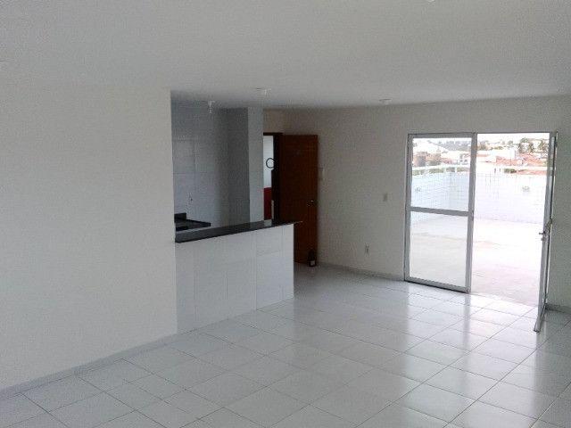 Apartamento com 02 quartos próximo uepb Cristo documentação inclusa - Foto 2