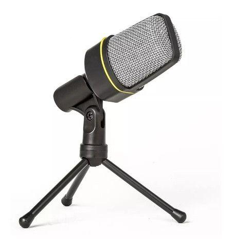Microfone Condensador Youtuber C/ Suporte Andowl Qy-920 - Foto 4