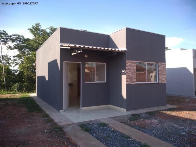 Casa para Venda em Várzea Grande, São Benedito, 2 dormitórios, 1 banheiro, 2 vagas - Foto 11
