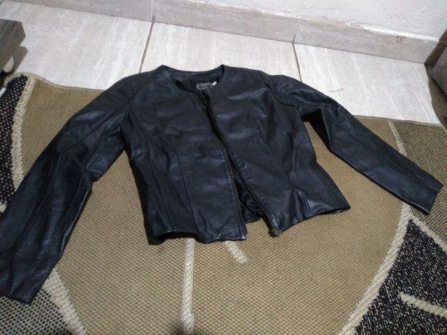 Jaqueta em couro legítimo Mercatto - Foto 2