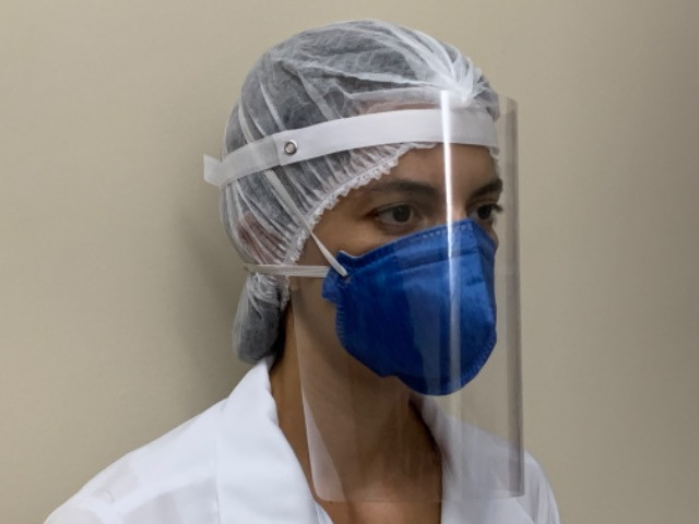 Protetor Facial para sua proteção e de sua equipe - Foto 5
